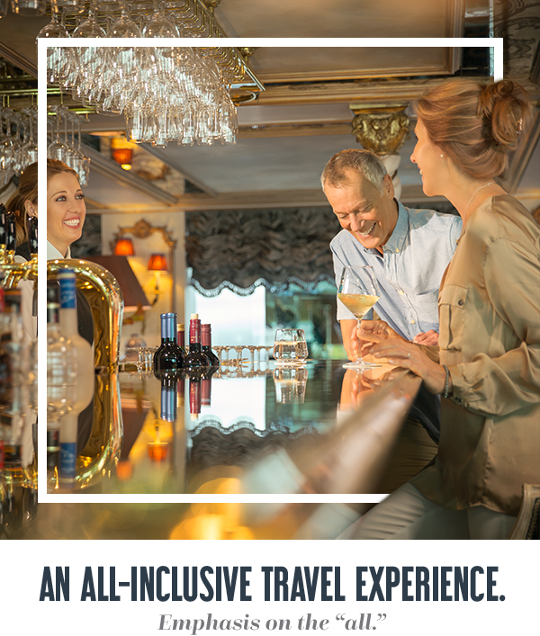 "An All-Inclusive Travel Experience. Emphasis on the ""all."""