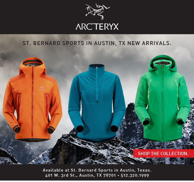 St. Bernard Sports in Austin, TX New Arrivals. Shop The Collection. 401 W. 3rd St. Austin, TX 78701 - 512.320.1999