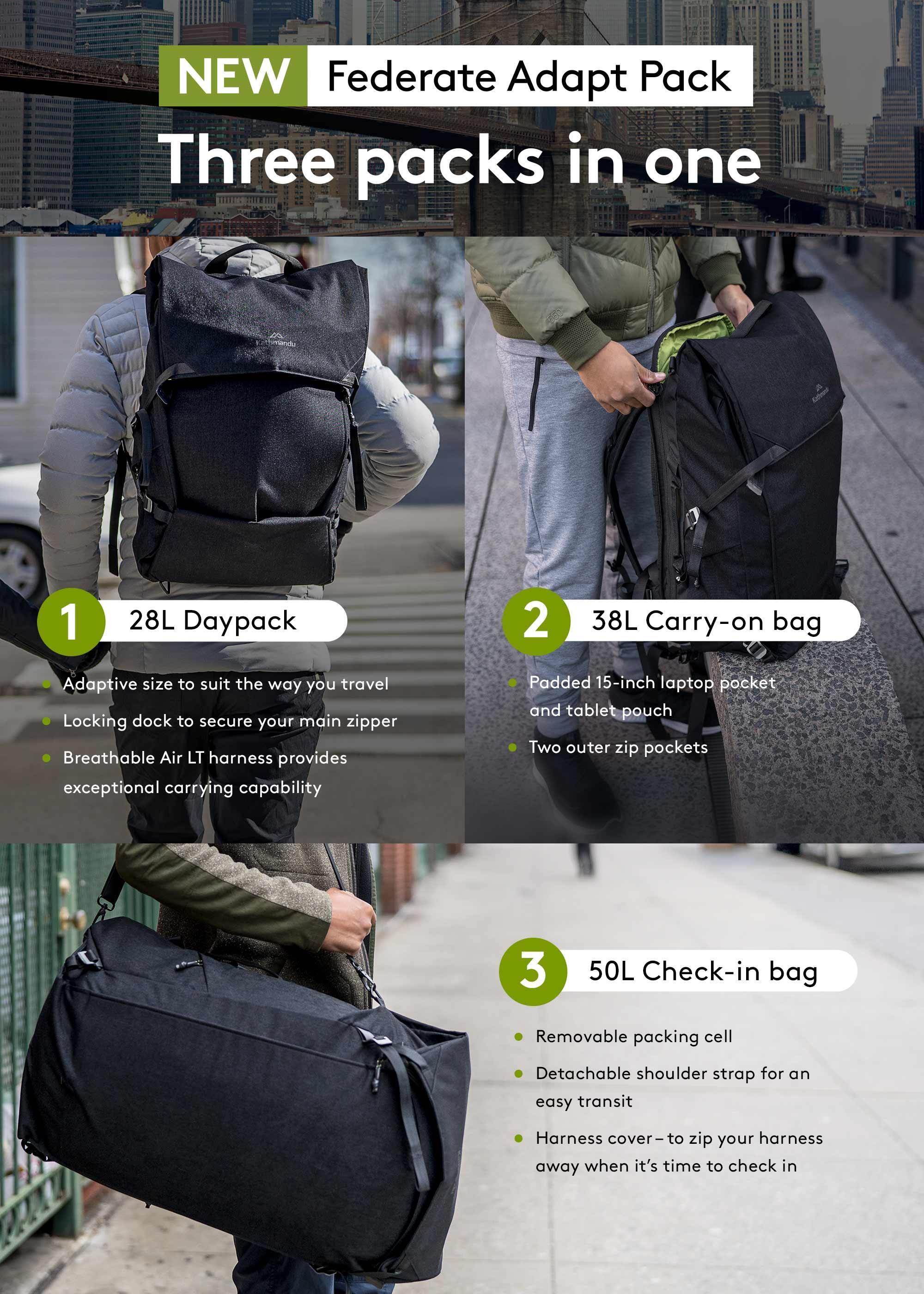 NEW Federate Adapt Pack - Three packs in one