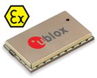 u‑blox SARA‑G350 ATEX certified GSM module is safe for use in explosive atmospheres