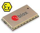 u‑blox SARA-G350 ATEX certified GSM module is safe for use in explosive atmospheres