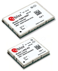 u‑blox LTE Cat. 1 modules for M2M and automotive applications