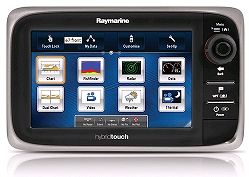 Raymarine e Series multifunction marine displays feature u‑blox GPS module technology