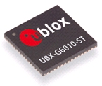 UBX‑G6010‑ST‑TM is designed for femtocell systems requiring low‑cost precision time information down to 15 nanosecond accuracy