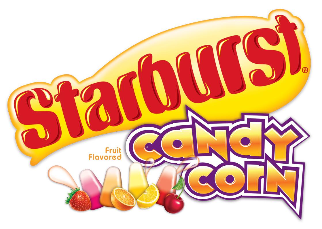 Starburst Candy Corn Logo