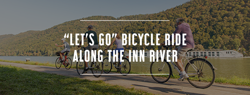 Let's go bicycle ride along The Inn River