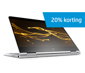 tot 20% korting op geselecteerde laptops!