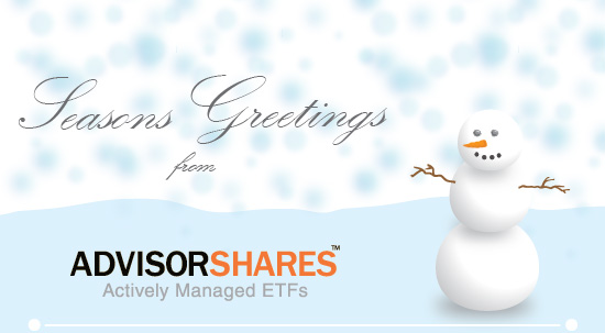 Seasons Greetings From AdvisorShares